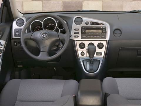 2008 toyota matrix Interior