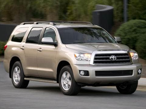 2008 Toyota Sequoia SR5 Sport Utility 4D  photo