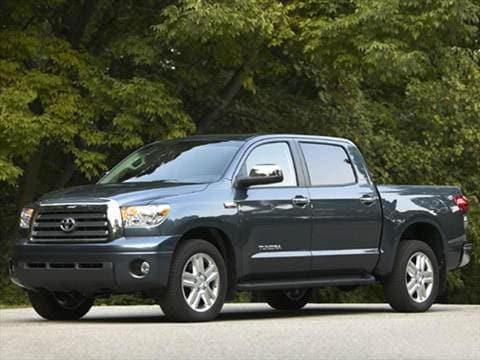 2008 Toyota Tundra Crewmax. 16 MPG Combined