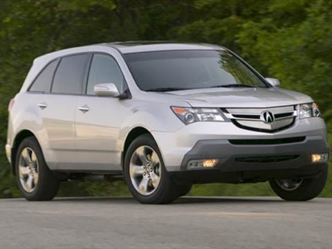 Acura MDX Pricing Ratings Reviews Kelley Blue Book - 2007 acura mdx sport shocks
