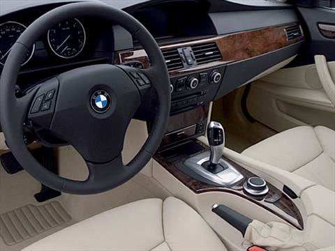 2009 bmw 5 series Interior
