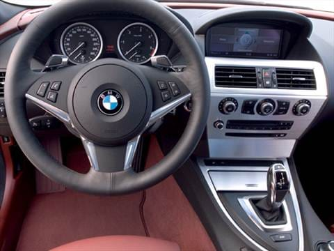 2009 bmw 6 series Interior