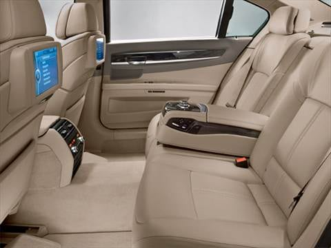 2009 bmw 7 series Interior
