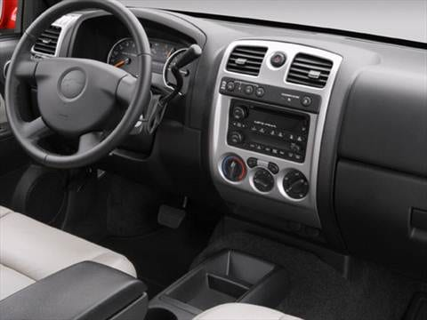 2009 chevrolet colorado extended cab Interior