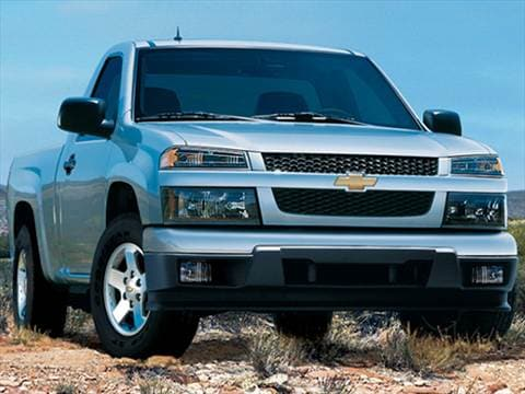 2009 Chevrolet Colorado Regular Cab Work Truck Pickup 2D 6 ft  photo