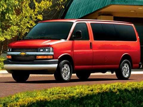 2009 Chevrolet Express 3500 Passenger LS Van D  photo