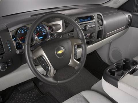 2009 chevrolet silverado 1500 regular cab Interior