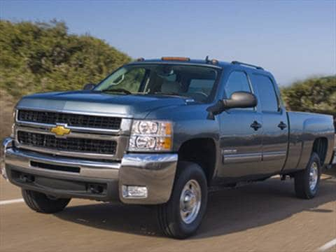 2009 Chevrolet Silverado 2500 HD Crew Cab Work Truck Pickup 4D 6 1/2 ft  photo