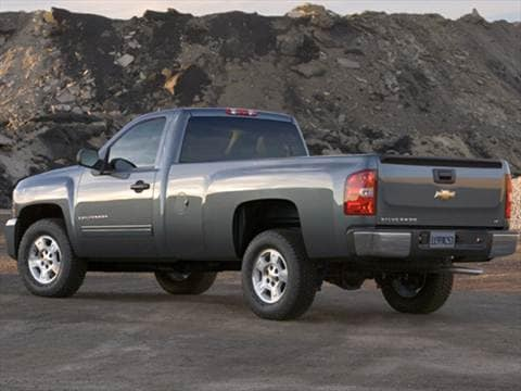 2009 Chevrolet Silverado 2500 HD Regular Cab LT Pickup 2D 8 ft  photo