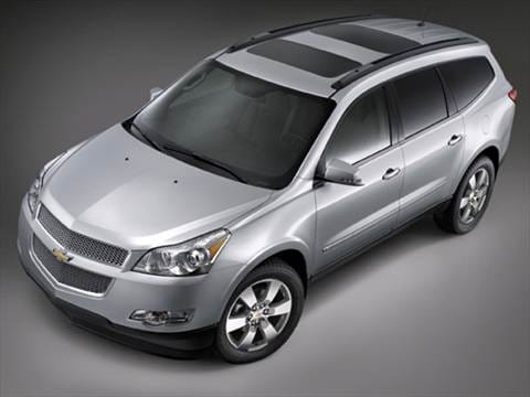 2009 Chevrolet Traverse Pricing Ratings Reviews Kelley Blue Book