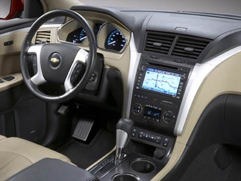 2009 chevrolet traverse Interior