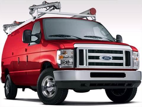 2009 Ford E350 Super Duty Cargo Commercial Van 3D  photo