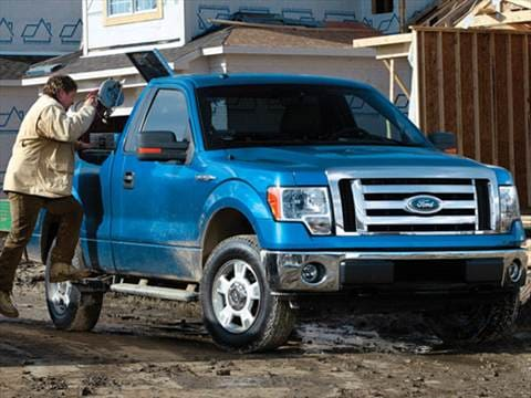 2009 ford f150 regular cab pricing ratings reviews kelley blue book. Black Bedroom Furniture Sets. Home Design Ideas