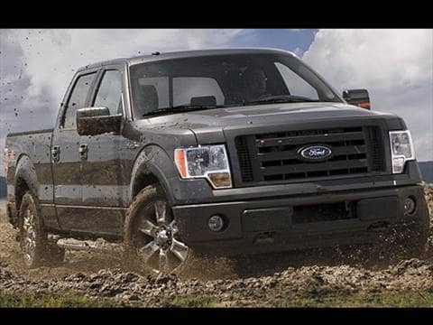 Ford F Supercrew Cab  Mpg Combined