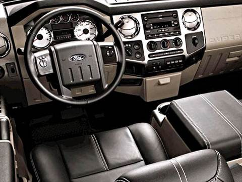 2009 ford f250 super duty crew cab Interior