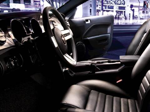 2009 ford mustang Interior