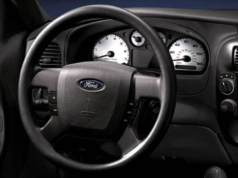 2009 ford ranger super cab Interior