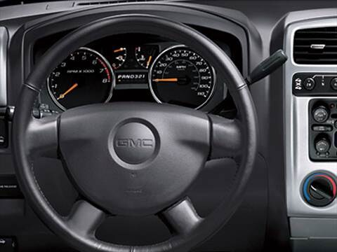 2009 gmc canyon regular cab Interior