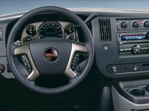 2009 gmc savana 3500 cargo Interior
