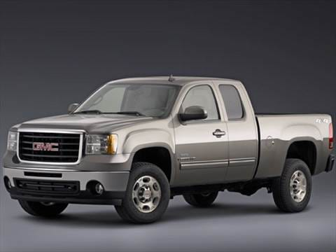 2009 gmc sierra 2500 hd extended cab Exterior