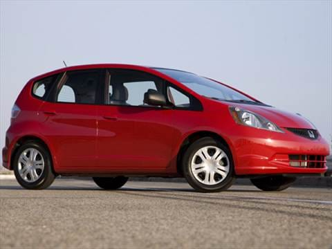 Honda fit 2009 mpg