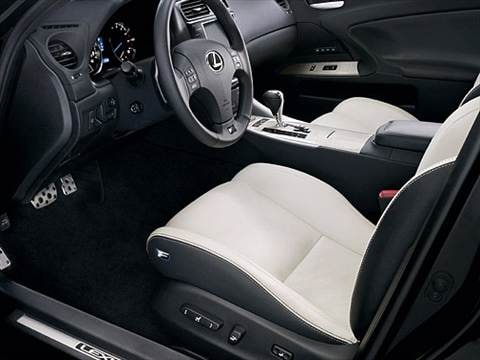 2009 lexus is f Interior