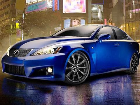 2009 lexus is f Exterior