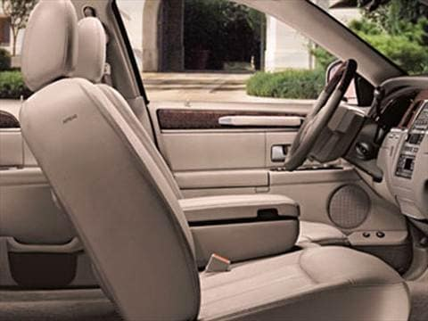 2009 lincoln town car Interior