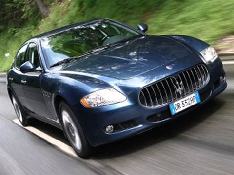 2009 maserati quattroporte sedan 4d pictures and videos kelley blue book. Black Bedroom Furniture Sets. Home Design Ideas