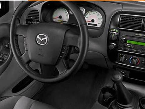 2009 mazda b series regular cab Interior