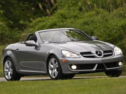 2009 mercedes benz slk class pricing ratings reviews. Black Bedroom Furniture Sets. Home Design Ideas