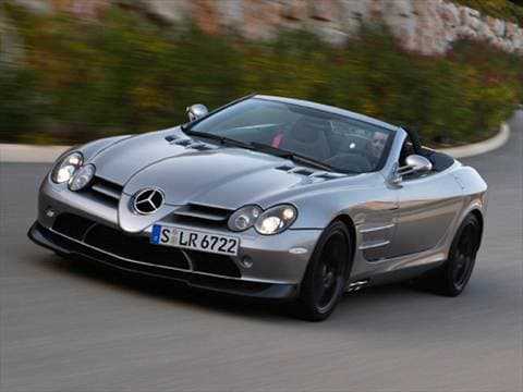 2009 Mercedes-Benz SLR McLaren Roadster 2D  photo