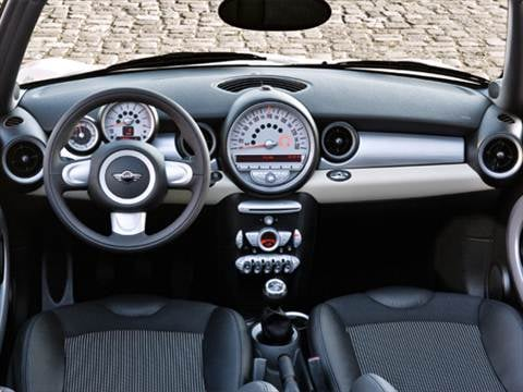 2009 mini convertible Interior
