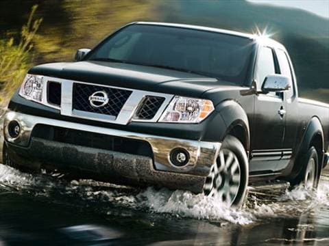 2009 nissan frontier king cab Exterior