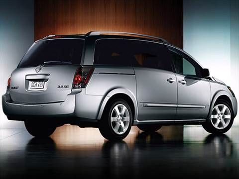 2009 Nissan Quest Minivan 4D  photo