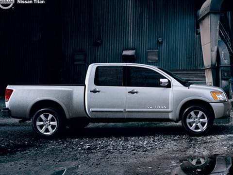 2009 Nissan Titan Crew Cab XE Pickup 4D 5 1/2 ft  photo