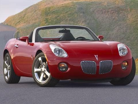 Used Pontiac Solstice Coupe  Kelley Blue Book