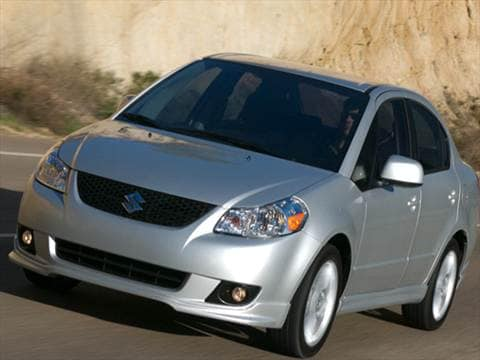 2009 Suzuki Sx4 Pricing Ratings Reviews Kelley Blue Book