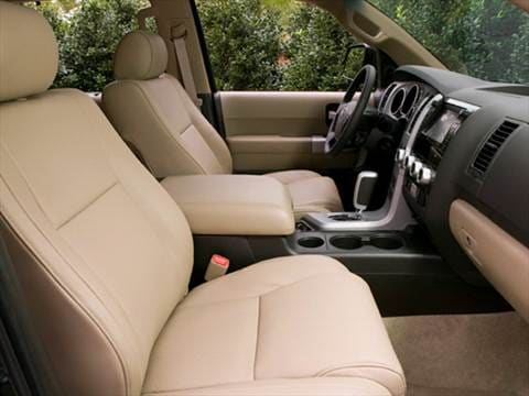 2009 toyota sequoia Interior