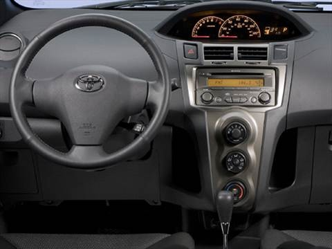 2009 toyota yaris Interior
