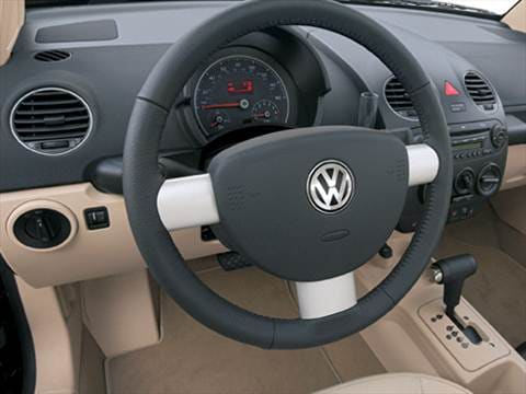 2009 volkswagen new beetle Interior