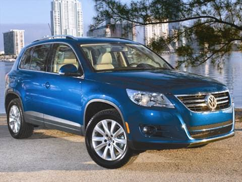 volkswagen tiguan pricing ratings reviews kelley blue book