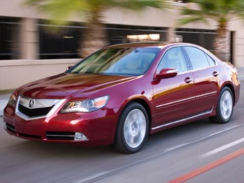 2010 acura rl pricing ratings reviews kelley blue book. Black Bedroom Furniture Sets. Home Design Ideas