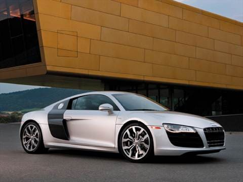 2010 Audi R8 4.2 Quattro Coupe 2D  photo
