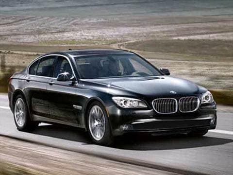 2010 BMW 7 Series 750i Sedan 4D  photo