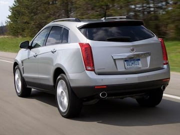 2010 Cadillac Srx Pricing Ratings Reviews Kelley Blue Book