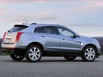 2010 Cadillac Srx Exterior