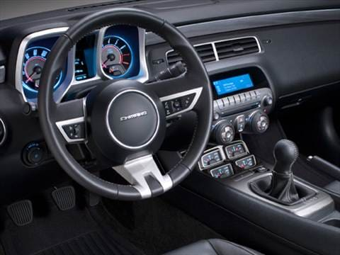 2010 chevrolet camaro Interior