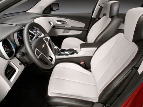 2010 chevrolet equinox Interior