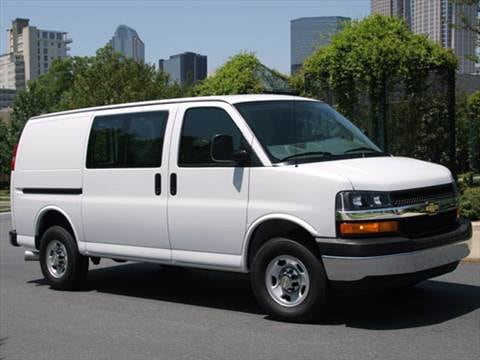 2010 Chevrolet Express 1500 Passenger LS Van 3D  photo